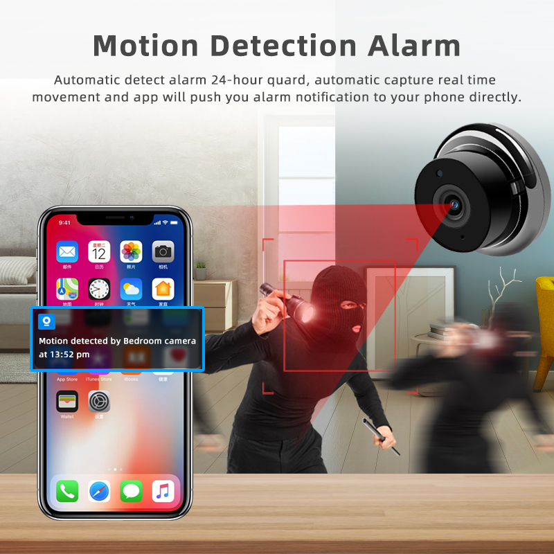 1080P Wireless Mini Camera With Night Vision And Fully Functional Security camera 3