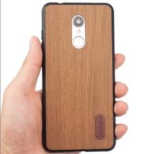 Moda Retro de diseño de madera funda de teléfono para Xiaomi Redmi 5 de silicona suave Protector de borde de conchas Redmi 5 PC antideslizante