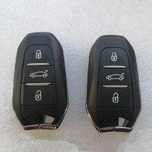 Auto Remote Schlüssel Auto Keyless Smart Key 433,92 Mhz ID46 4A HITAG Chip für Peugeot 208 308 3008 508 5008 für Citroen C4 C4L DS4 DS5
