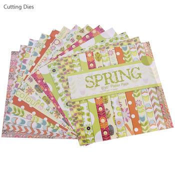 Nowy przyjeżdża 12 arkuszy lot Rose scrapbooking kwiat papier sztuka dokument informacyjny tworzenie kartek album do scrapbookingu diy prace ręczne z papieru tanie i dobre opinie paper