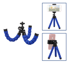 Go pro Accessories Flexible Sponge Octopus Tripod for 7 6 5 4 Sj4000 Sj8 Sj9 DJI OSMO Action Camera H9R Mobile Phone