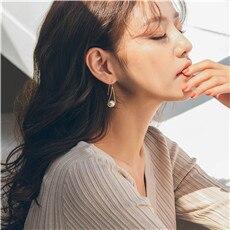 AOMU-2019-Chic-Imitation-Pearl-Water-Droplets-Geometric-Long-Drop-Earrings-for-Women-Girl-Wedding-Party
