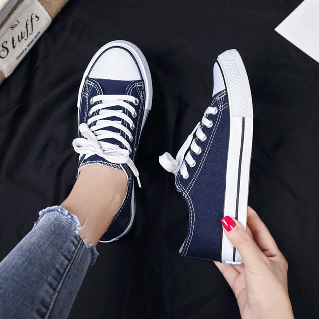Canvas Vulcanize Shoes Woman Sneakers Fashion Shoes Men Trainers Women Ladies Yellow Red Shoe Tenis Feminino Zapatos Mujer