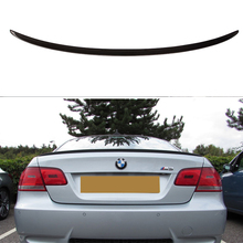 Carbon wings For BMW E92 Spoiler 3 Series 2 Door E92 M3 E92 Coupe Carbon Spoiler Performance car styling 2005-2012 все цены