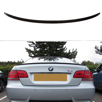 Carbon wings For BMW E92 Spoiler 3 Series 2 Door E92 M3 E92 Coupe Carbon Spoiler Performance car styling 2005-2012 image