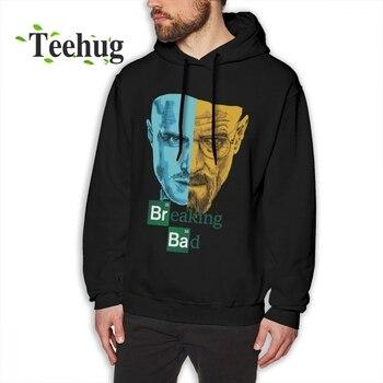 цена на Breaking Bad Hoodies For Male New Custom Homme Tee Shirt Cotton