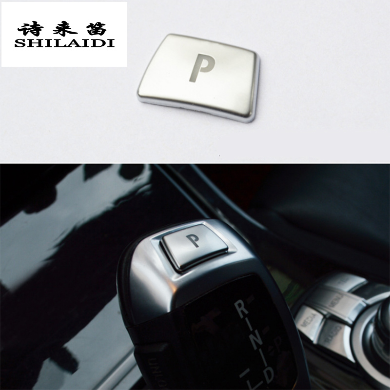 Car Styling Style Gear Shift Handle Sleeve Buttons Panel Cover Stickers For BMW 5/6/7 Series F10 GT F07 F01 F02 Auto Accessories