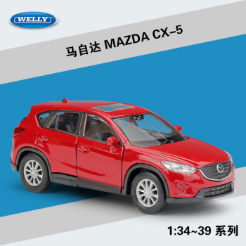 MAZDA CX-5 WELLY Cars 1/36 Metal Alloy Diecast Model Cars Toys image