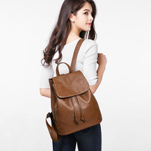Multifunctional women's backpack Combination shoulder strap Fashion girls backpack Ladies travel leather backpack Shoulder Bags