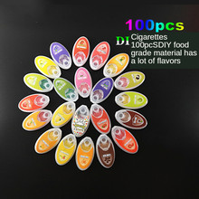 100pcs Cigarette Pops Fruit Menthol Capsule Mint Beads Flavor Explosion Blast Ball Holder Filter Smoking Tobacco Accessories