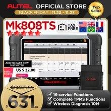 Autel Maxicom MK808TS Như MK808 Thêm TS601 TPMS Cảm Biến Lập Trình OBD2 Xe Công Cụ Chẩn Đoán OBD 2 Máy Quét Chìa Khóa Mã Hóa PK MK808BT