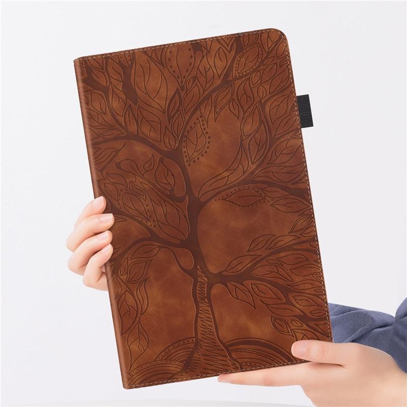 iPad Emboss-Tree Flip-Case Funda 11 Wallet Stand-Tablet for Pro Coque
