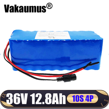 with 15A BMS 36V Electric Bicycle Battery 18650 Li-ion Battery 10S4P 36V 12.8Ah 500W High Power and Capacity Motorcycle Scooter