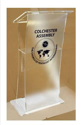 Free Shipping Acrylic Table Acrylic Lectern Acrylic Podium Reception Lectern Acrylic Pulpit Plexiglass Speaker Stand