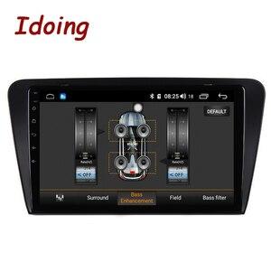 """Image 3 - Idoing 10.2 """"IPS 2.5D 4GB + 64GB 1Din Android oto araba radyo multimedya GPS oynatıcı Skoda octavia 2017 8 çekirdekli hızlı önyükleme NoDVD"""