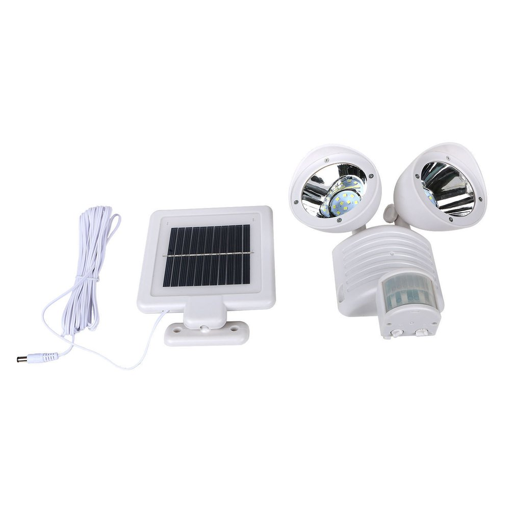 Double Head 22 Led Light Solar Motion Sensor Security Body Wall Lamp Outdoor Garden @ 8 Jdh99 Projector