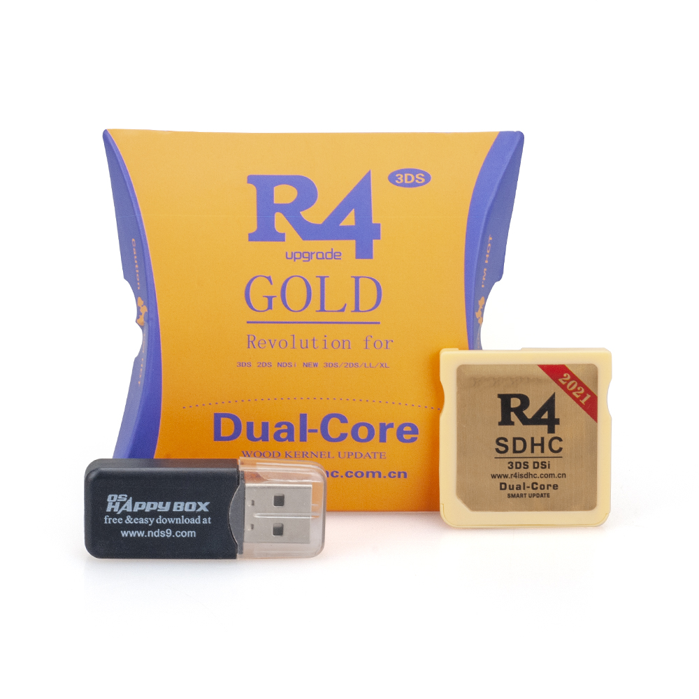 SDHC + USB 2021 R4ISDHC R4 комплект адаптера Micro SD TF карты ключ карты будет работать на Nintendo DS DSI 2DS 3DS игра