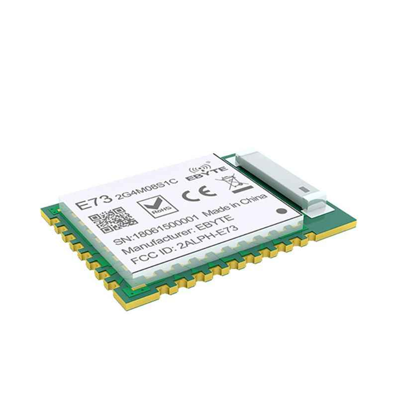 NRF52840 Bluetooth 5,0 240MHz RF transceptor E73-2G4M08S1C 8dbm antena cerámica BLE 4,2 2,4 GHz transmisor y receptor inalámbrico