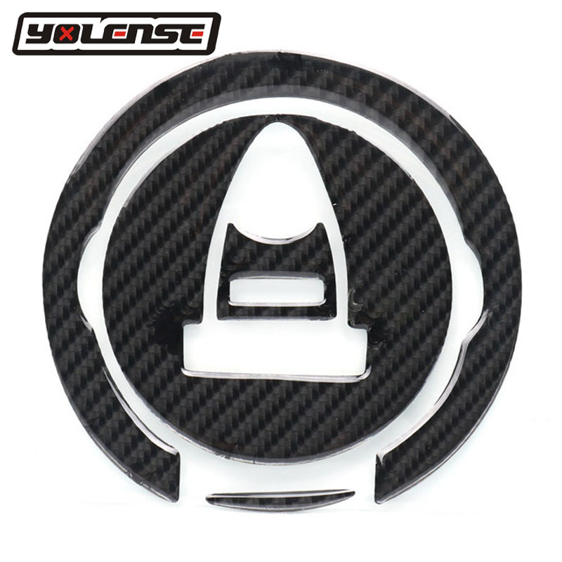 Motorcycle Carbon Fiber Oil Gas Fuel Tank Cap Tank Pad Tankpad Sticker For <font><b>KTM</b></font> 1190 1290 For APRILIA ALL 2007-2012 <font><b>2008</b></font> 2009 image