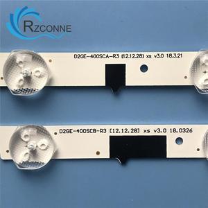 "Image 2 - LED תאורה אחורית רצועת 13 מנורת עבור SamSung 40 ""טלוויזיה D2GE 400SCA R3 UA40F5500 2013SVS40F UE40F6400 D2GE 400SCB R3 UE40F5000 UE40F5700"