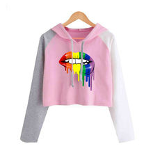 Свободный свитер для девочек размера плюс с длинным рукавом