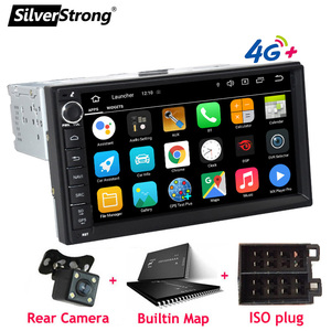 Image 1 - SilverStrong, Android10, Universal 1Din Car radio tape recorder, GPS Auto Stereo, LADA GRANTA Android