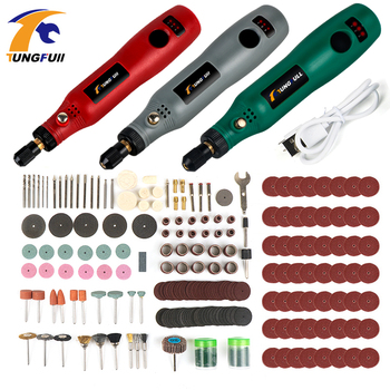 USB Cordless Drill Power Tools Electric Drill Grinding Accessories Set Mini Wireless Engraving Pen For Jewelry Wood Dremel tools