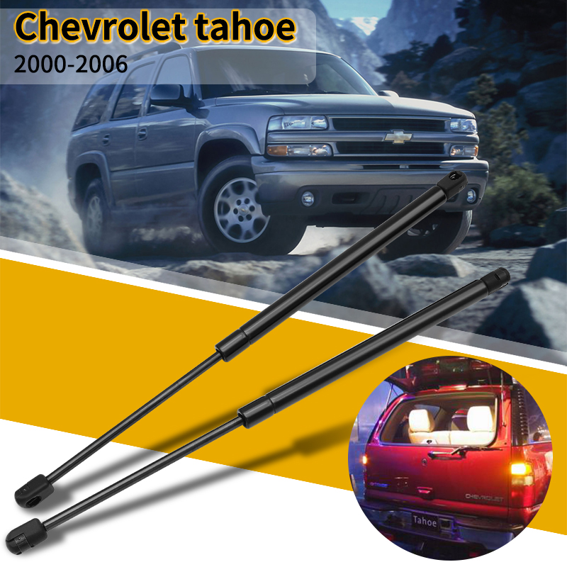 2 Pcs Gas Struts For Chevrolet Tahoe 2000-2006 Car Accessories Rear Tailgate Window Support Lift Shock Gas Strut Car Styling