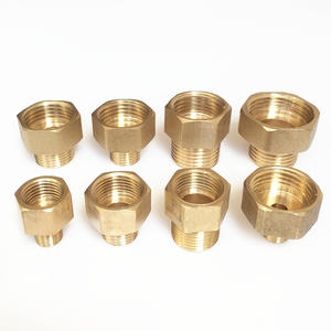 "1/8"" 1/4"" 3/8"" 1/2"" Male to Female Thread Brass Pipe Connectors Brass Coupler Adapter"