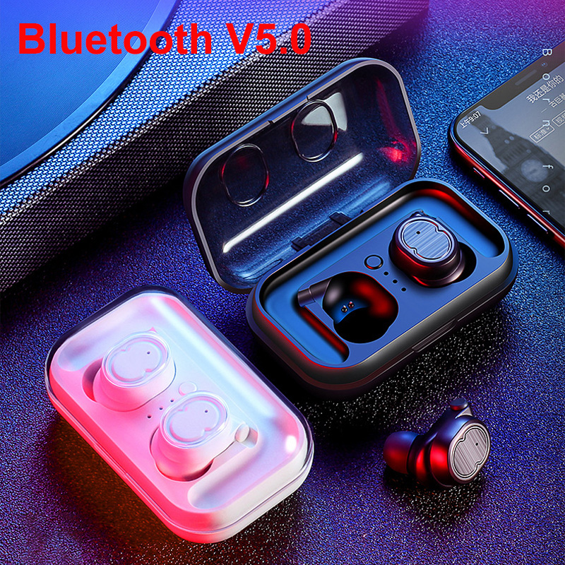 New Upgrade Wireless Headphones Bluetooth 5.0 HiFi Stereo Low Latency Earphones for Video Game Sport Earbuds for Iphone Samsung