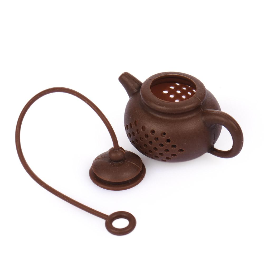 Easy-to-use Tea Filter Precision Tea Strainers For Leaking Tea Food-grade Silicone Tea Maker