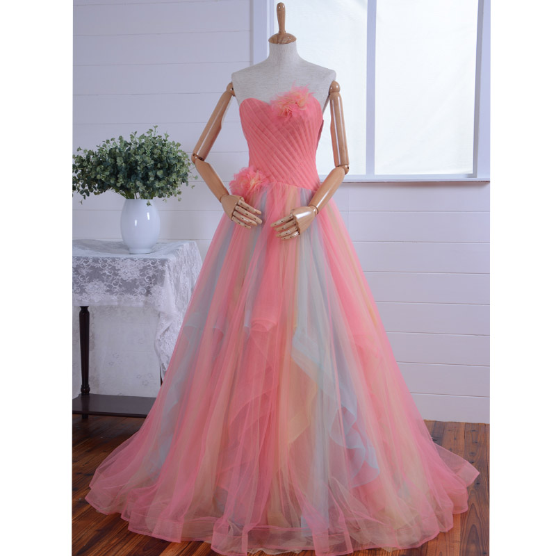 Gorgeous Off The Shoulder Flowers Party Gown Long Cheap Quinceanera Gown 2018 Sweetheart Lace Up Mother Of The Bride Dresses