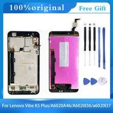 Для Lenovo Vibe K5 Plus A6020A46 A6020l36 a6020l37 ЖК-дисплей сенсорный экран дигитайзер в сборе с рамкой