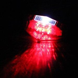 Image 4 - مصباح خلفي للدراجات النارية ، 11 مصباح LED ، ضوء توقف ، مؤشر إشارة الانعطاف ، ملحقات دراجة نارية