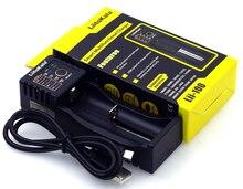 цена на LiitoKala Lii-100 Li-ion NiMH Liepo4 USB Battery Charger for 10440/17670/18490/16340 (RCR123)/14500/18350/18650,mobile power