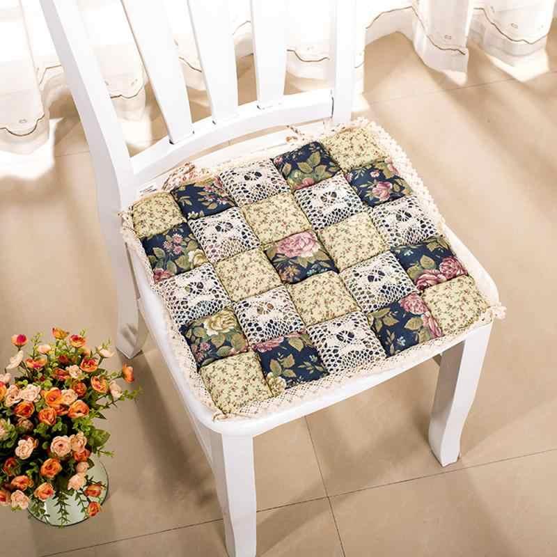 Colore della caramella Creativo Stile Pastorale Cuscino Sedia Portatile Leggero Sedia Da Pranzo Cuscino Ufficio di Cucina Tavolo di Casa Cuscino