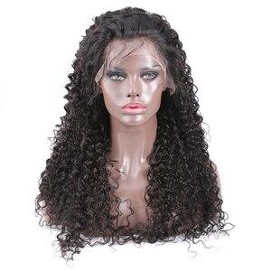 Image 4 - Jerry, вьющиеся передние человеческие волосы, искусственные бразильские неповрежденные волосы, Короткие вьющиеся парики для женщин, предварительно выщипанный парик