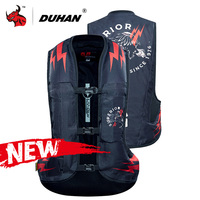 DUHAN New Motorcycle Air bag Vest Motorcycle Vest Motorcycle Jacket Motocross Protection Reflective Motorbike Airbag Moto Vest