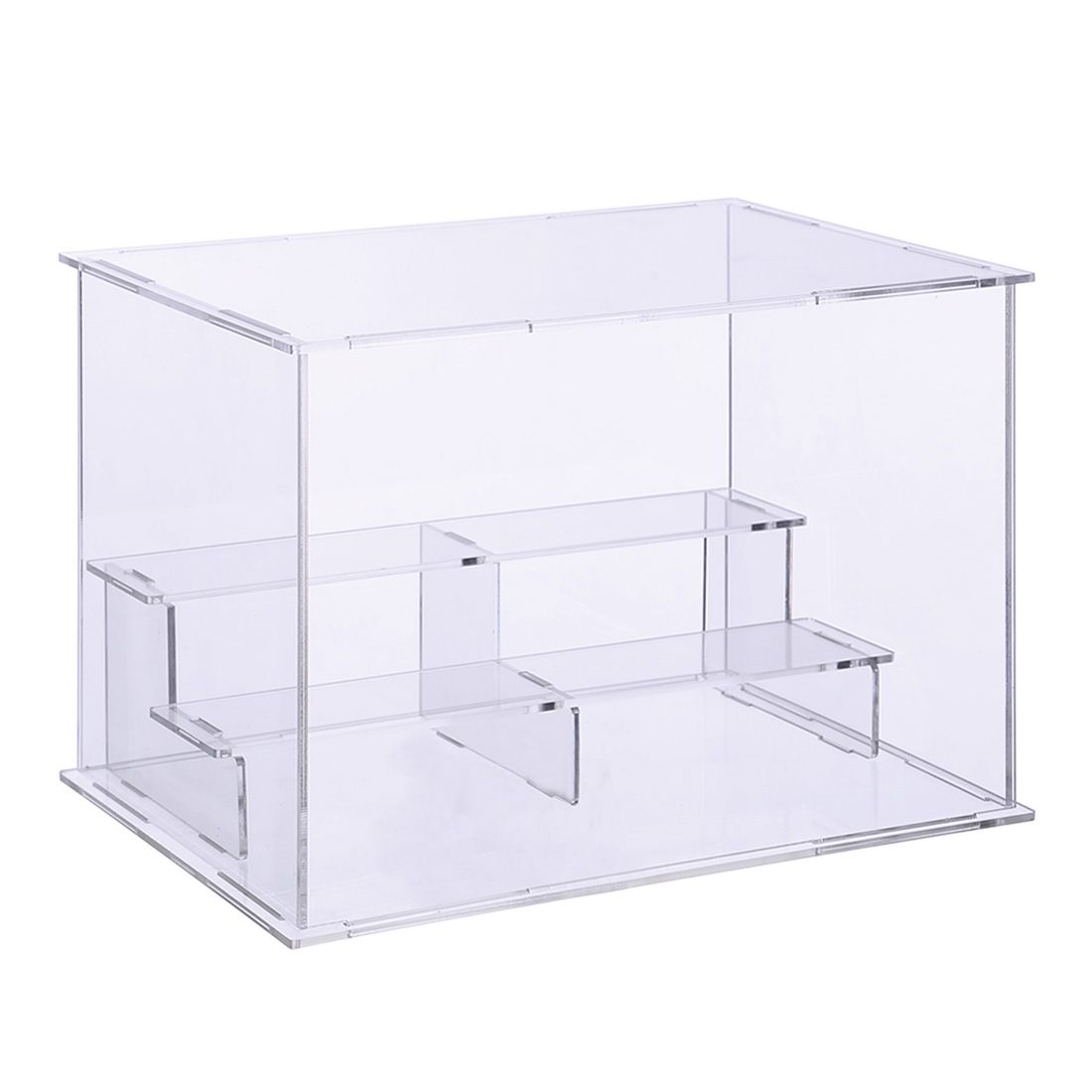 26x20x17.6cm Acrylic Display Case Countertop Box Stand Dustproof Protection Showcase For Action Figures Toys Collectibles