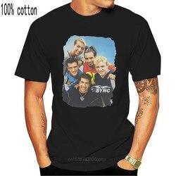 Concert Tour Timberlake Vintage Reprin 1998 T-Shirt NSync Boy Band