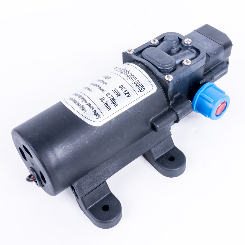 DC 12 Volt  30W 3L/Min Small 12V Water Pump Automatic Pressure Switch Control
