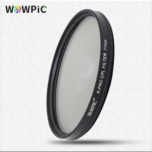 Image 1 - Polarisatie Filter Wowpic Cpl Filter 49 52 Mm 55 58 Mm 62 67 72 77 Mm 82 Mm Lens Filtre foto Voor Canon Nikon Sony Penter Dslr Cam