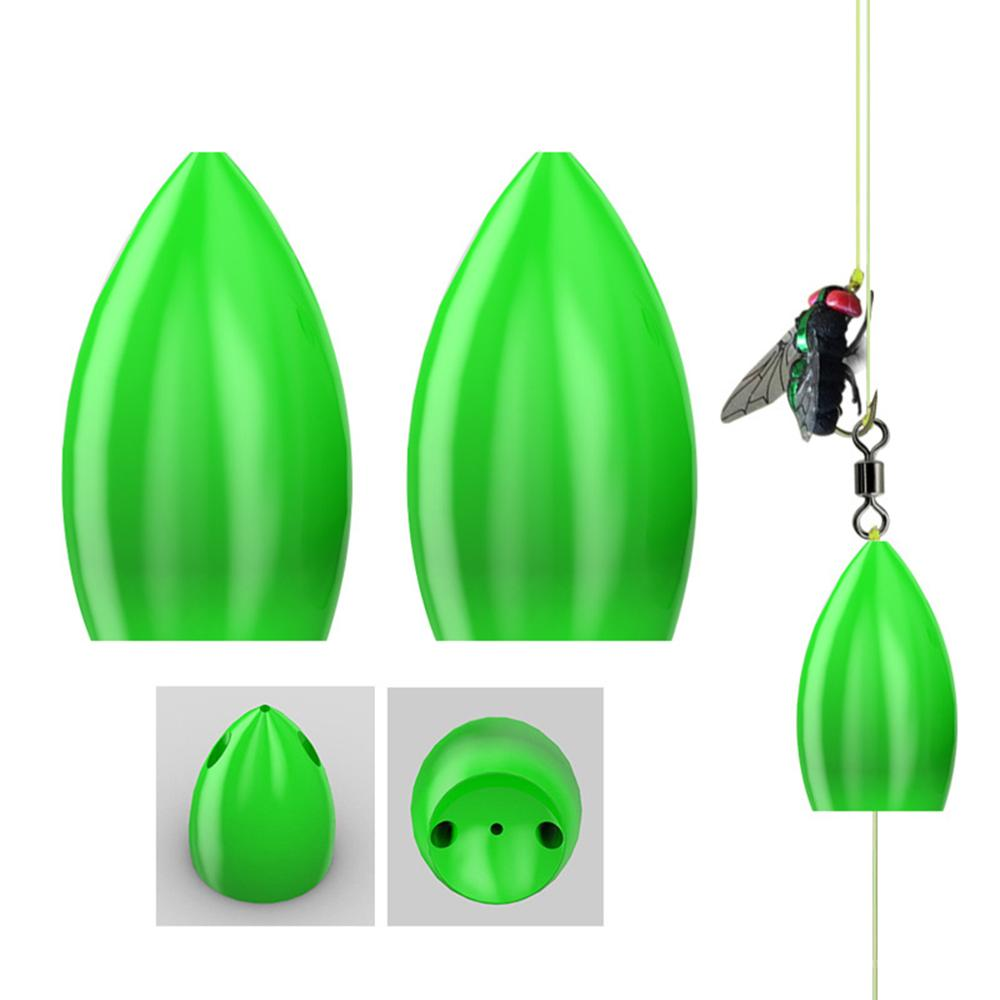 10 Pcs/pack Floating Water Booster Fly Hook Road Yamato Help Thrower Long-distance Casting Bait Fishing Gear Accessories B36F