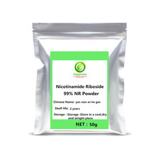Nicotinamide Riboside Chloride 99% NR Powder Helps Increase NAD + Levels In The Body Promote Healthy Muscle Growth NMN