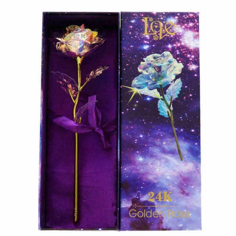 Pha Lê Nhân Tạo Hoa Hồng đầu hoa DỰ TIỆC CƯỚI trang trí nhà TỰ LÀM Vòng hoa sổ lưu Tặng thủ công cho Valentine Quà Tặng