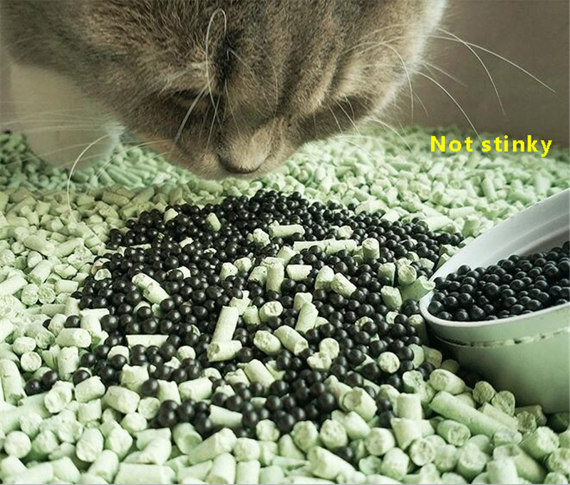 Cat Litter Deodorant Beads Pets Litter Sand Activated Carbon Absorbs To Cat Stink Bead Pet Cat Litter Cleaning Supplies