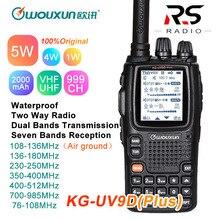 Wouxun KG-UV9D Plus Walkie Talkie CB Radio Station Transceiv