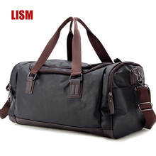 LISM Europe And The United States Large-capacity PU Portable Travel Bag  High Quality Bag  Luxury Travel bags  2019 NEW new travel bag large capacity men s travel bag europe and the united states style women s bag duffel travelling bags bolsas