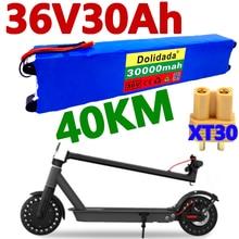 100% 36V 30Ah קטנוע לxiaomi Mijia M365 36V 30000mAh סוללות חשמלי קטנוע BMS לוח לxiaomi M365