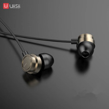 UiiSii Headphones HM7/13 HotbSelling Earphone with Microphone Metal Super Bass Stereo 3.5mm for iPhone/Samsung Phone Go pro MP3
